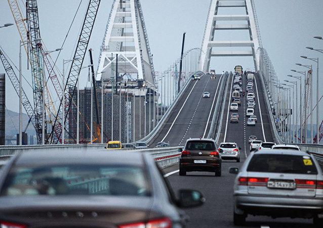 Doprava na Krymském mostu
