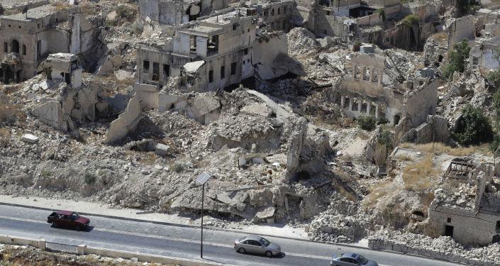 Výhled na Aleppo. Ilustrační foto
