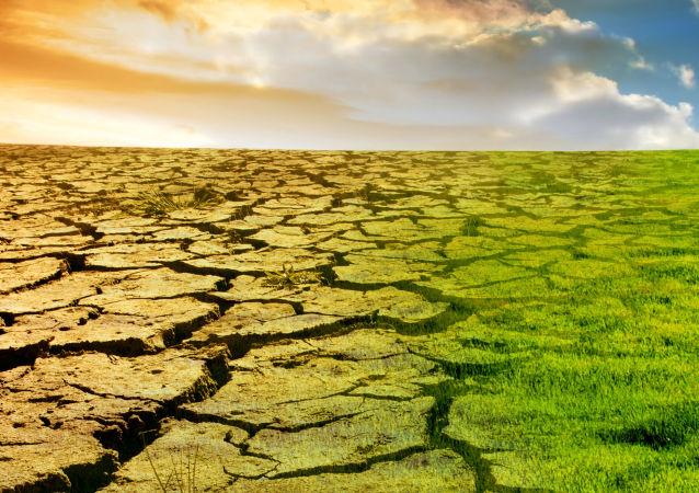 Vizualizace globálního oteplování.