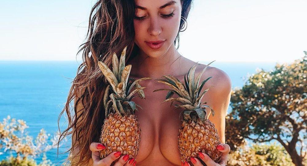 Italská modelka Valentina Fradegradová