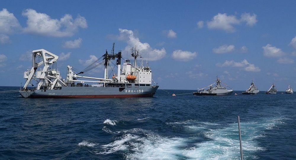 Syrský přístav v Tartúsu