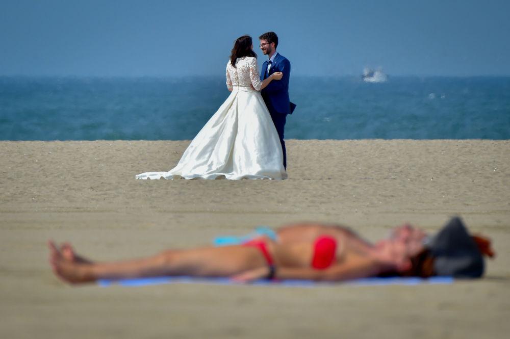 Nejlepší fotografie týdne. Benátský festival, tajfun v Japonsku a Den znalostí