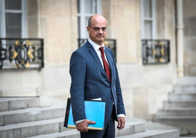 Francouzský ministr školství Jean-Michel Blanquer