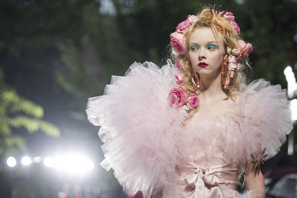 Sexualita a šok na týdnu módy v New Yorku