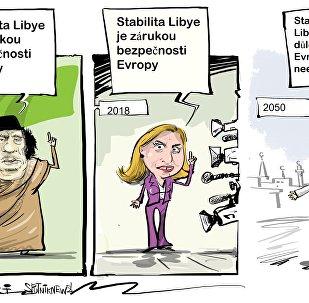 Mogheriniová označila stabilitu v Libyi za záruku bezpečnosti v Evropě