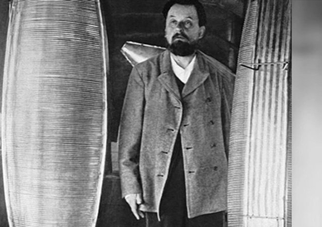 Ruský vědec Konstantin Ciolkovskij