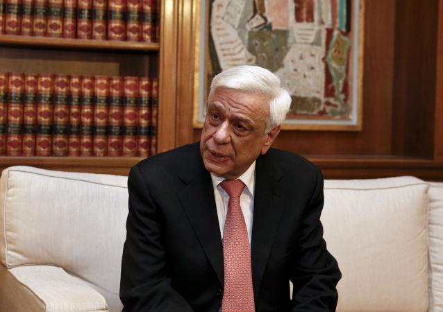 Řecký prezident Prokopis Pavlopoulos