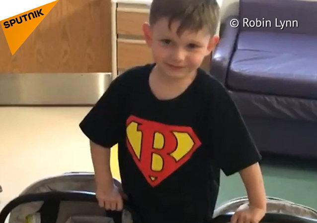 Hrdinský chlapec