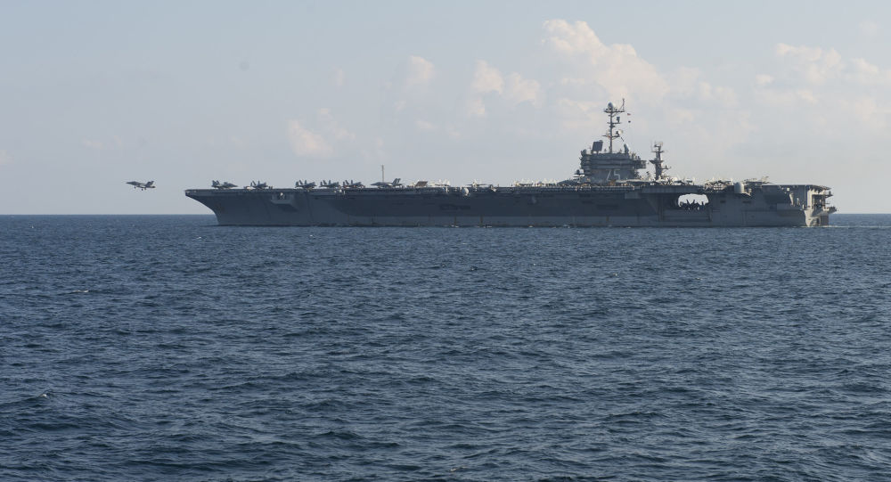 Americká letadlová loď Harry Truman.