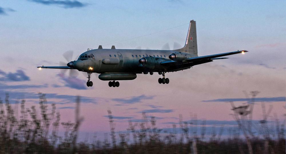 Ruské letadlo Il-20M. Ilustrační foto