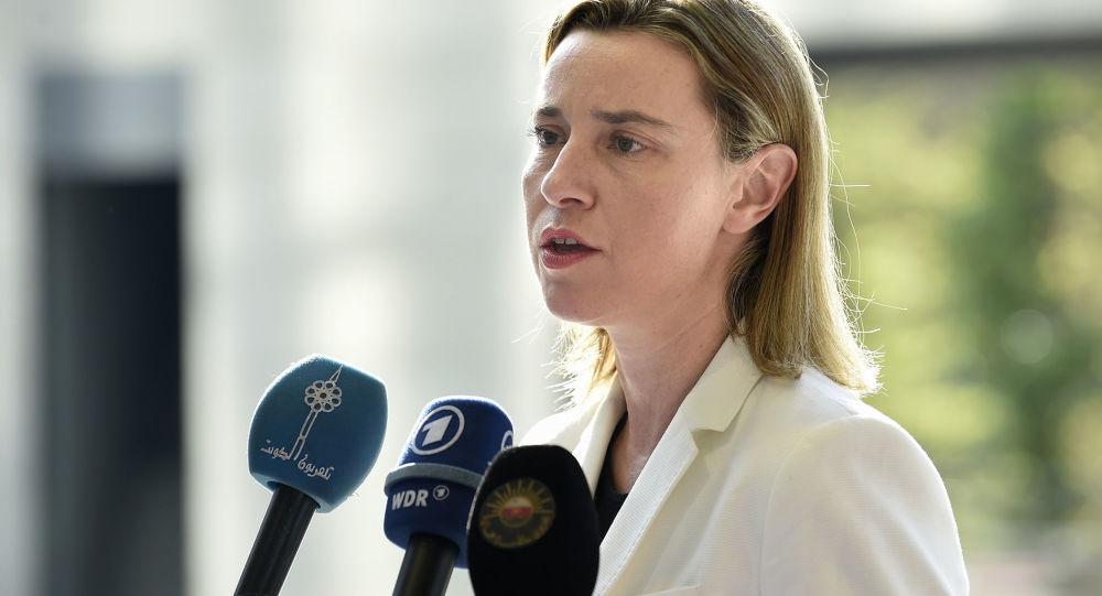 Hlavní zástupkyně  EU pro zahraniční záležitosti a politiku bezpečnosti Federika Mogheriniová
