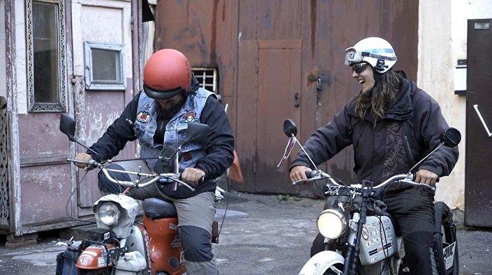 Čeští cestovatelé Michal Franc a Martin Gregor