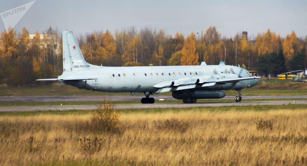 Letadlo Il-20. Archivní foto