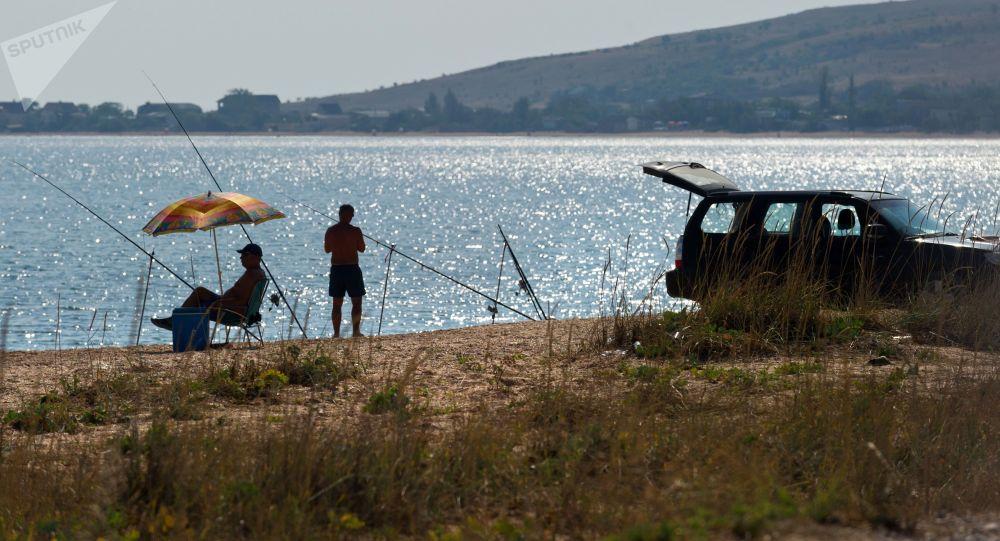 Rybáři na Azovském moři