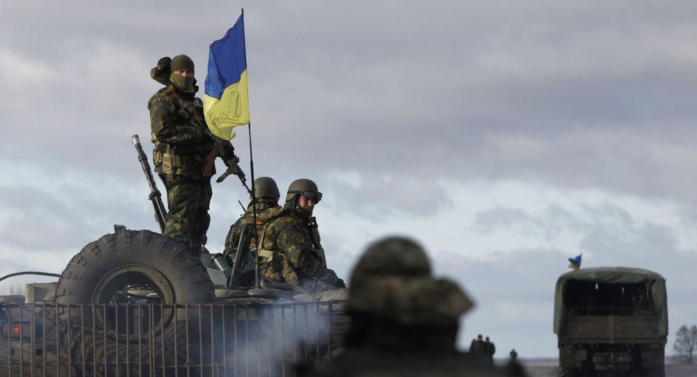 Ukrajinští vojáci. Ilustrační foto