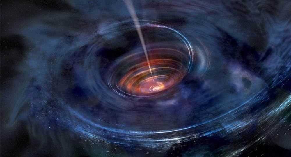 Černá díra uprostřed galaxie Swift J1644+57