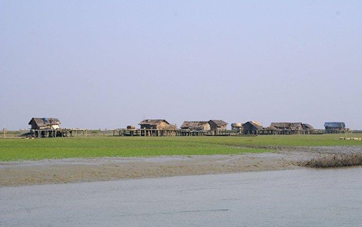 Ostrov Ramree, Barma