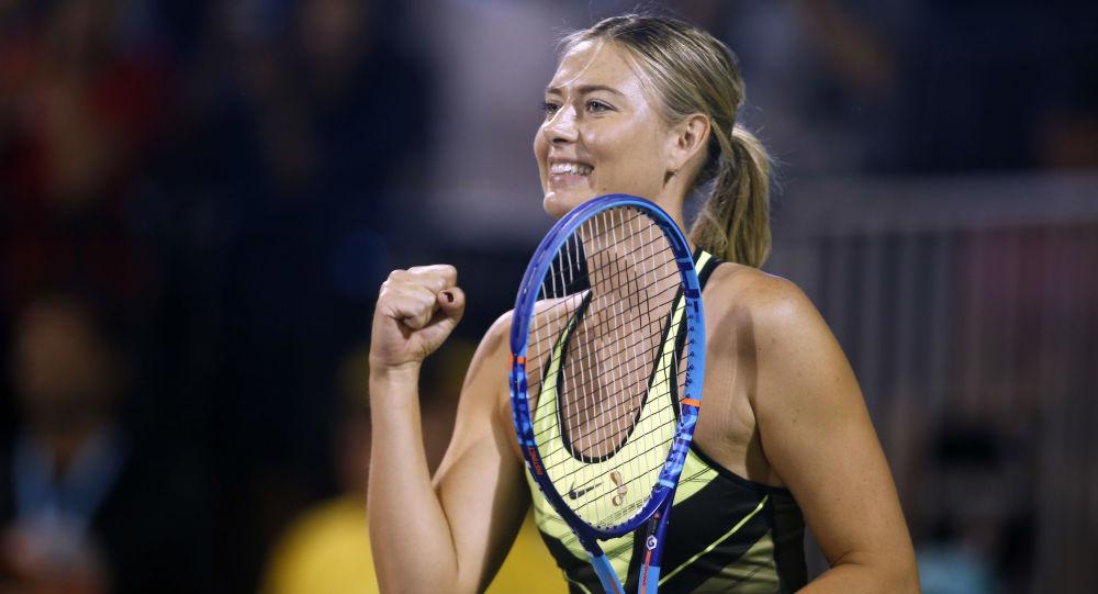 Tenistka Maria Šarapovová