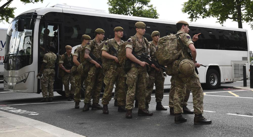 Vojáci Velké Británie