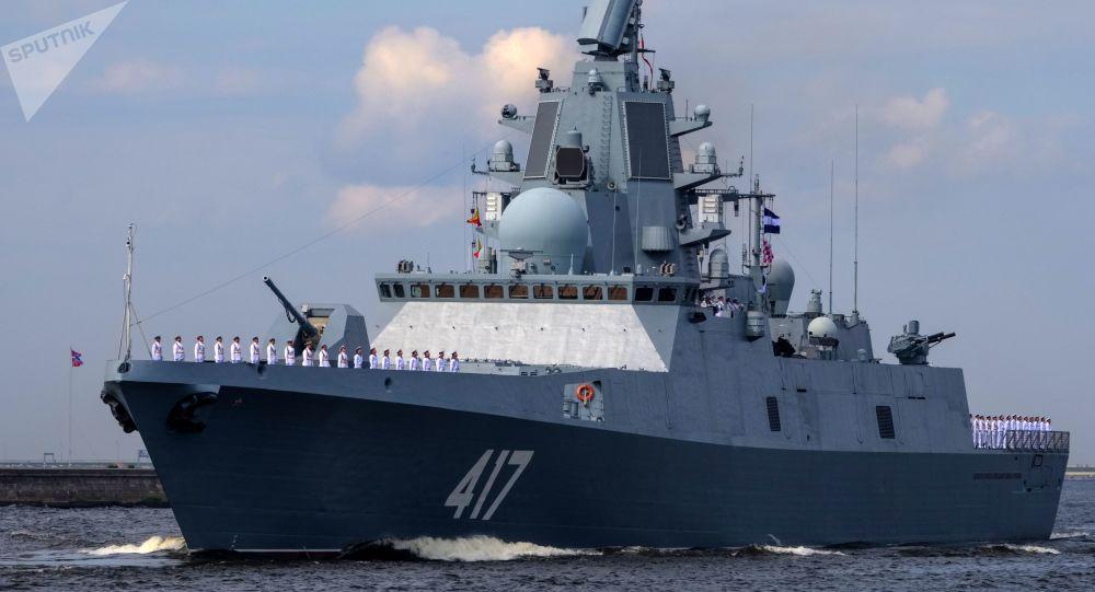 Fregata Admiral Gorškov v Konštadtu