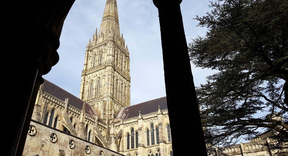 Salisburská katedrála ve Velké Británii