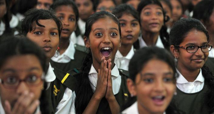 Indičtí školáci