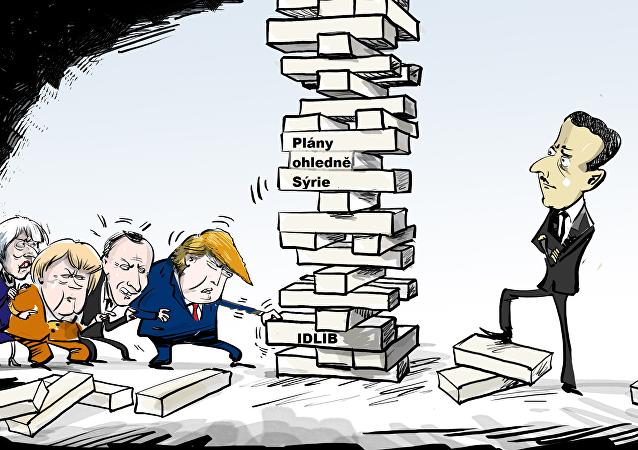Plány ohledně Sýrie