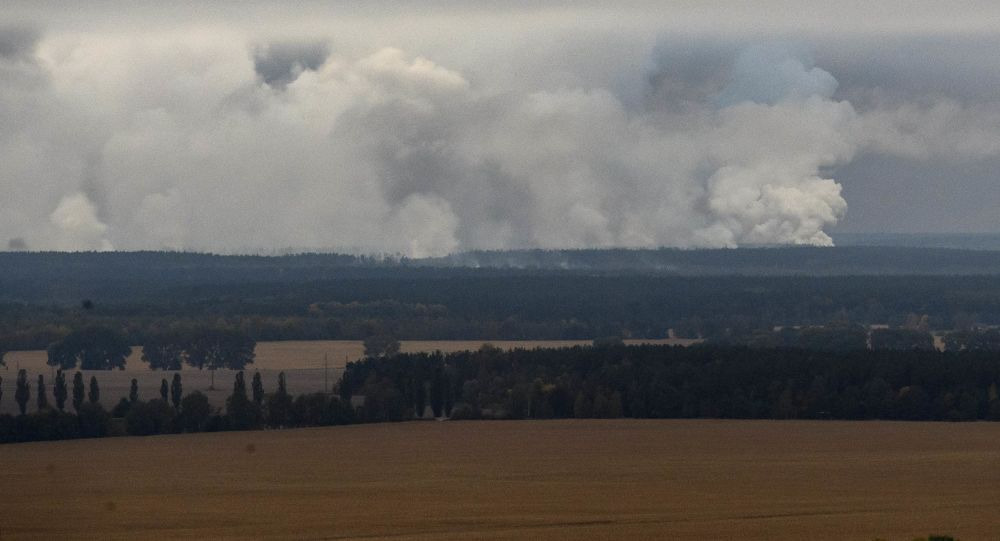 Požár v Černihivě
