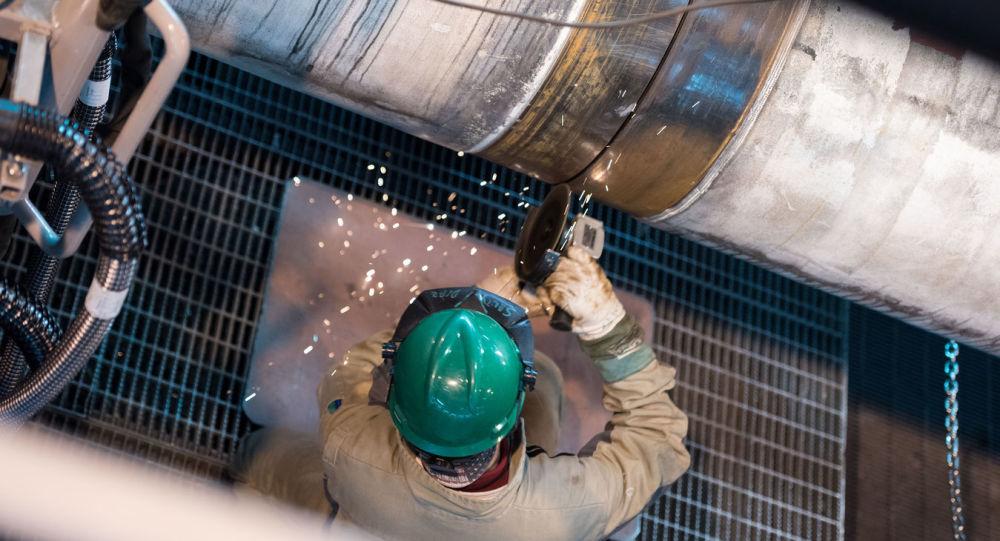 Stavby plynovodu Turecký proud