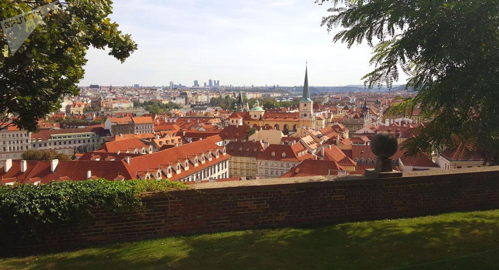 Výhled na Prahu. Ilustrační foto
