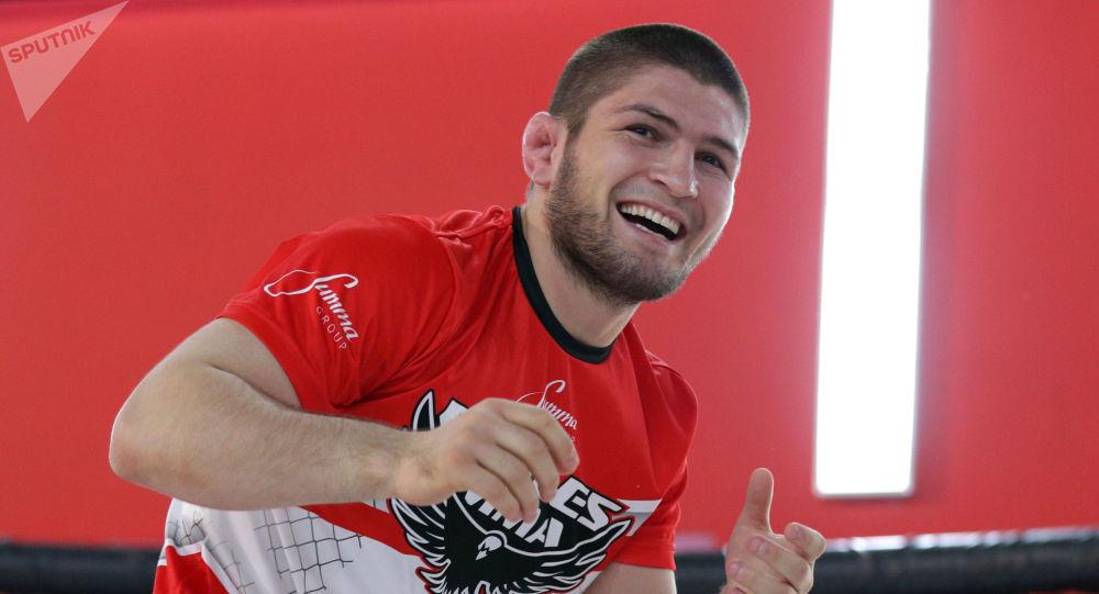 Ruský zápasník Khabib Nurmagomedov