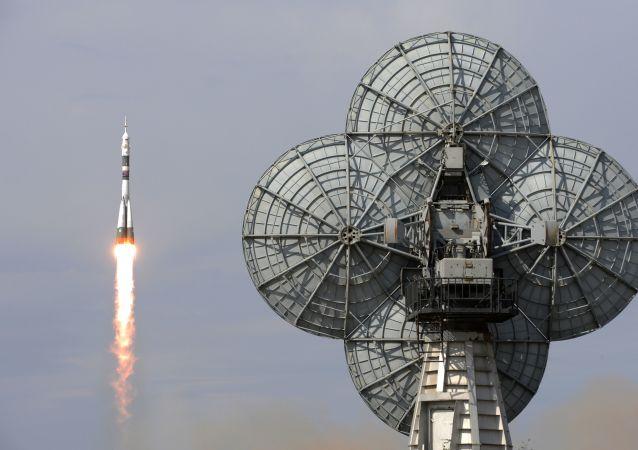 Start lodě Sojuz. Ilustrační foto