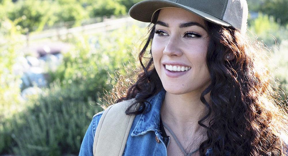 Americká modelka Kelsey Quayleová