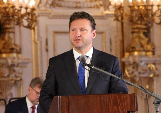 Předseda Sněmovny Radek Vondráček