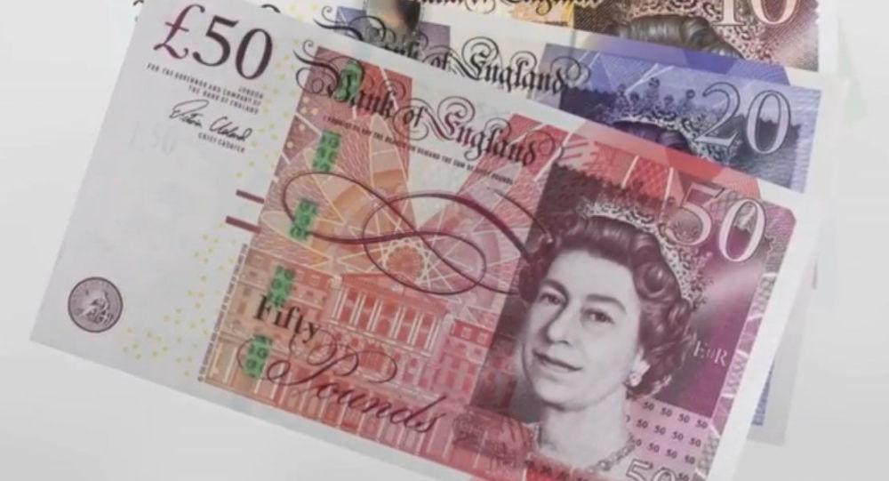 Nové bankovky anglické banky Bank of England