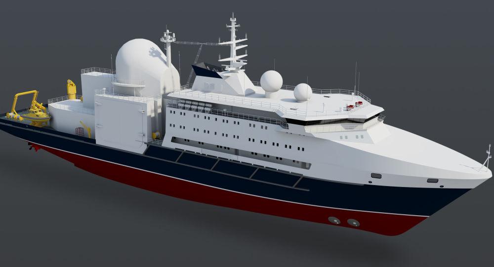 projekt lodě Almaz
