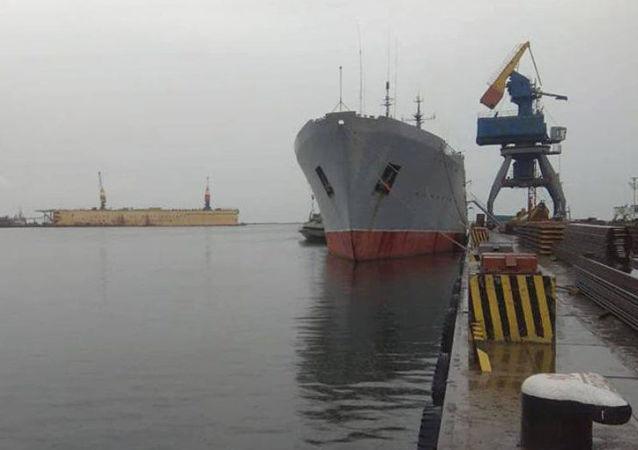 Loď ukrajinského námořnictva