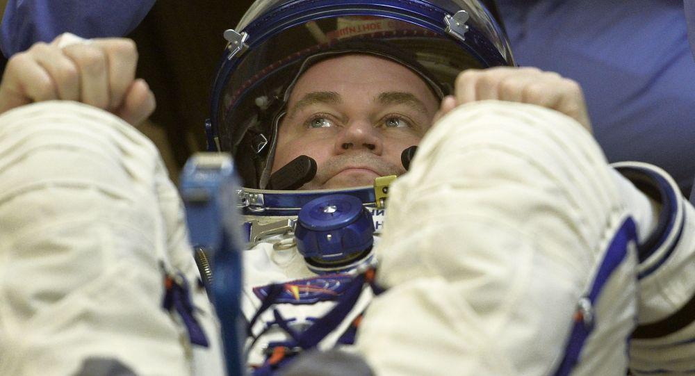 Kosmonaut Roskosmosu Alexej Ovčinin