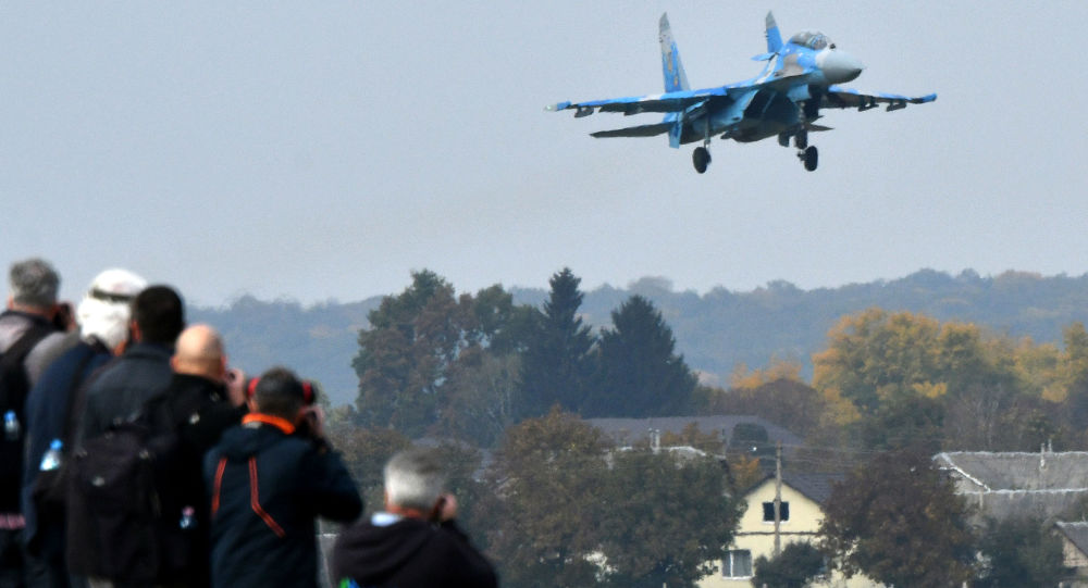 Ukrajinská stíhačka Su-27