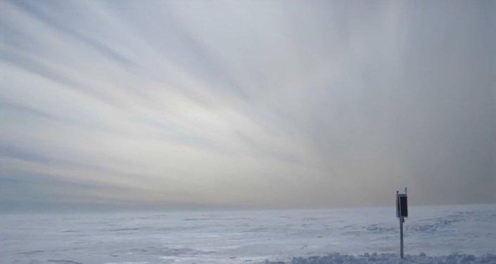 """Objevilo se video """"zpěvu"""" ledovců v Antarktidě"""