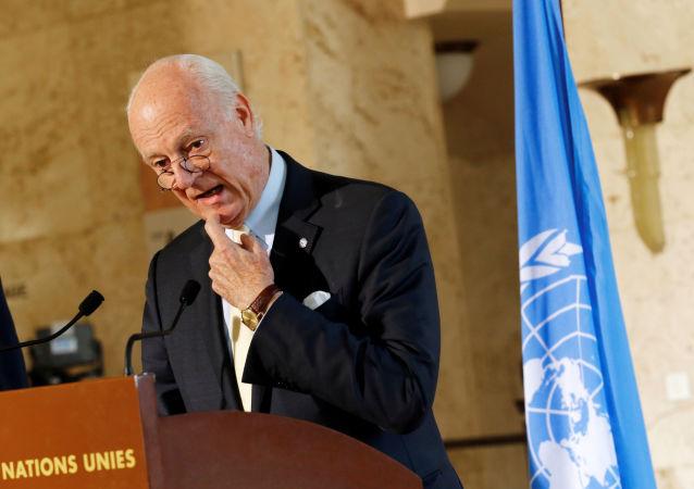 Zvláštní zástupce generálního tajemníka OSN pro Sýrii Staffan de Mistura