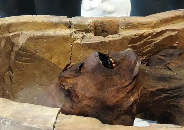 Mumie v Egyptu. Ilustrační foto