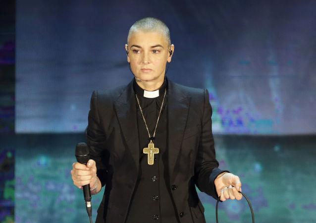 Irská zpěvačka Sinéad O'Connorová