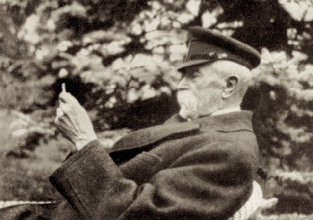 První prezident Československa Tomáš Garrigue Masaryk