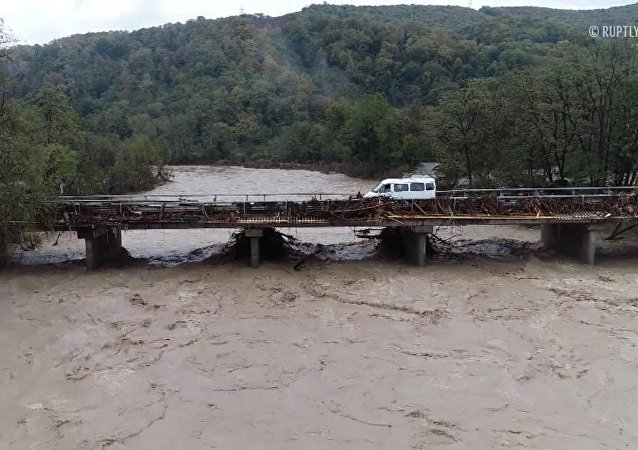 Povodeň v Krasnodarském kraji