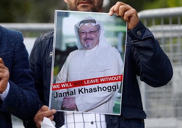 Zabitý saúdský novinář Džamál Chášukdží. Ilustrační foto
