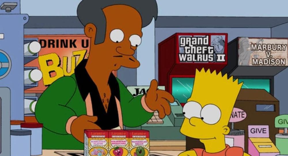 Postavy seriálu Simpsonovi – Apu Nahasapeemapetilon a Bart Simpson