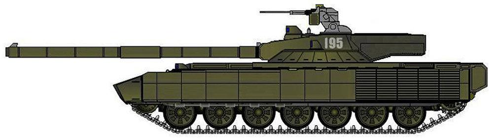 Hlavní bitevní tank T-95 aneb Object 195
