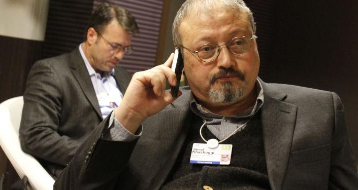 Novinář Washington Post saúdského původu Džamál Chášukdží
