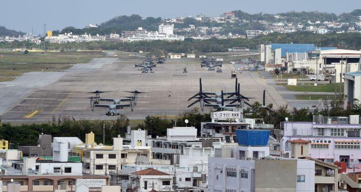 Americká základna Futemna v Japonsku